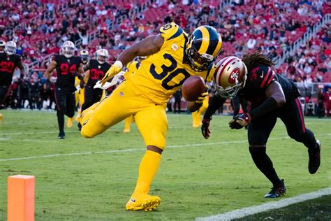 score of the rams today rams vs 49ers 2017 live updates scores highlights and