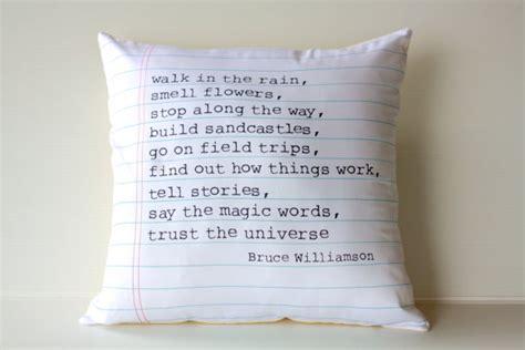 Poems About Pillows by 16x16 Cushion Decorative Pillow Poem Cushion 40cm Cushion