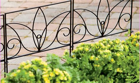decorative garden fencing fascinate decorative garden fencing fence ideas