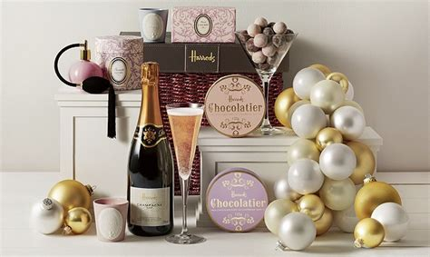 2013 holiday gift guide for newlyweds pittsburgh luxury a harrods christmas her and a chagne chiffon cake