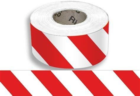 Baricade Line 3 X 300m barricade i white striped