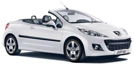 peugeot 207 convertible peugeot 207cc cabriolet 35 490 data details