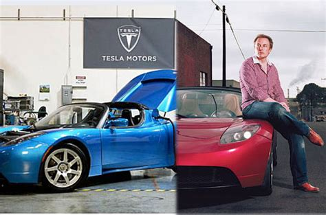 Tesla Motors Elon Musk All Electric Car 240 Per Charge 0 To 60 Mph In