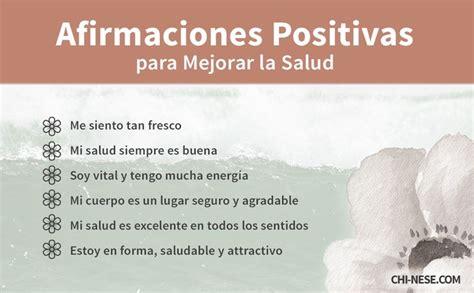 imagenes positivas de salud afirmaciones positivas para mejorar la salud