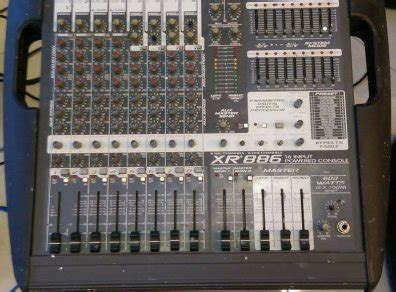 Powered Mixing Desks For Sale by Peavey Xr 886 Powered Mixing Desk For Sale In Christchurch