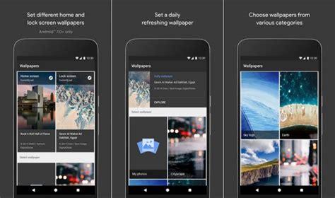 wallpaper gambar google google menawarkan aplikasi wallpaper untuk android