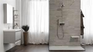 awesome Salle De Bain Grise Et Blanc #4: salle-bains-douche-italienne-carrelage-aspect-pierre-naturelle-grise.jpg