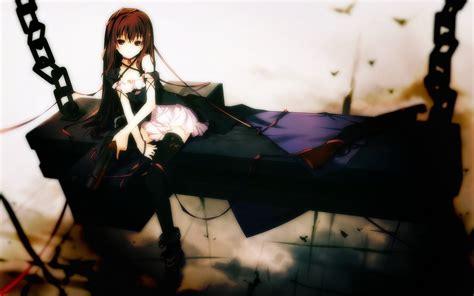 anime gothic girl wallpaper gothic anime girl wallpaper