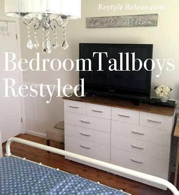 tallboys for bedrooms bedroom tallboys restyled
