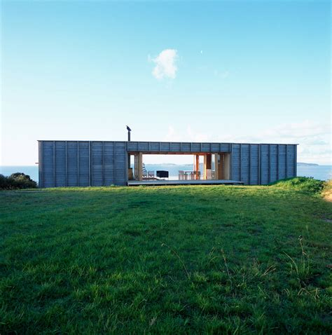 home new zealand architecture design and interiors container house connects naturally with its environment