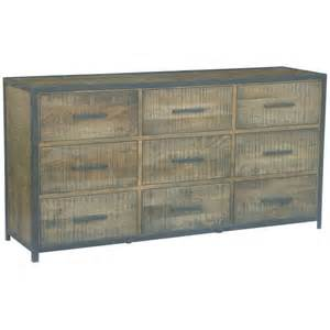 large buffet sideboard atlantic rustic large sideboard buffet w 9 drawers buy