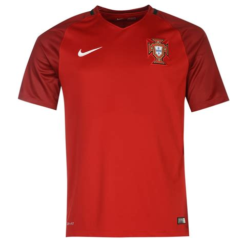 nike portugal home jersey 2016 mens football soccer