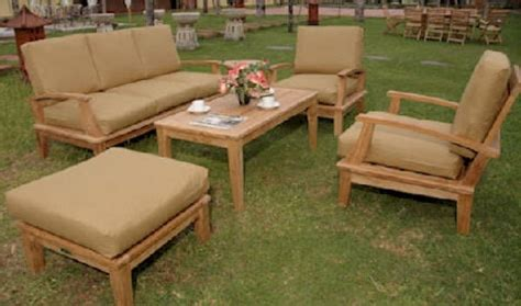 Teak Wood Casual Living Patio Furniture Outdoor Room Ideas Casual Living Patio Furniture