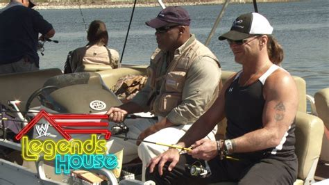 shawn michaels house fishing with shawn michaels wwe legends house may 29 2014 youtube
