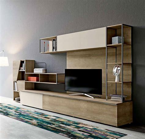 parete attrezzata con libreria parete attrezzata per soggiorno con libreria nuova a