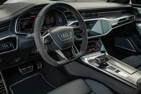 audi rs  sportback interior car body design