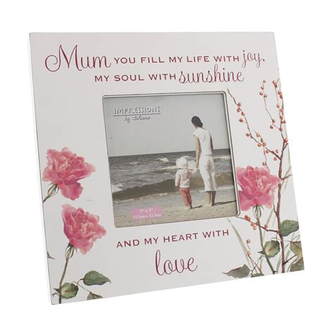 pretty sentimental words photo picture frame shabby chic