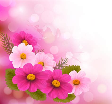 flower design facebook http freedesignfile com 94213 vector set of spring