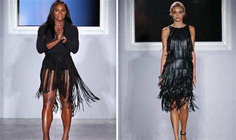 Catwalk To Carpet Serena Williams by Serena Williams Took The Catwalk By Showing