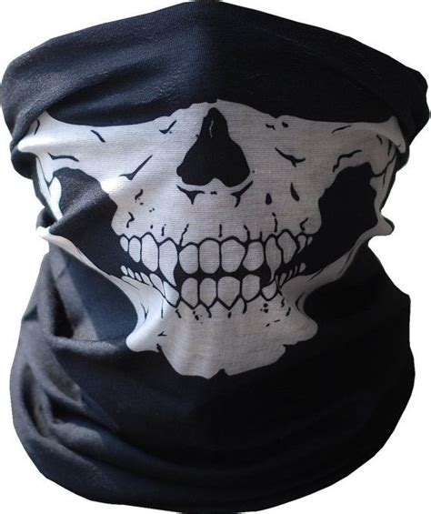 Masker Buff Call Of Duty skull mask bandana motorcycle scarf snowboard ski buff ghosts call of duty skeleton