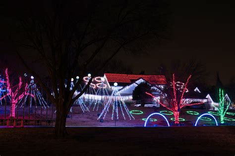 norman family s christmas lights show continues through