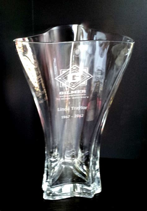 Vases Engraved by Personalized Vases From Images Inc