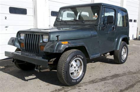 manual cars for sale 1994 jeep wrangler interior lighting no reserve 1994 jeep wrangler s sport utility 2 door 2 5l
