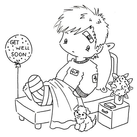 printable coloring pages get well soon coloring pages free coloring pages of get well soon cards