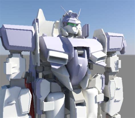 Kaos Gundam Mobile Suite 15 16 mobile suite gundam 3d model
