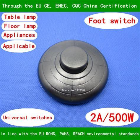 floor l foot switch kaoyi foot floor l dimmer switch cord model kfdu vac w