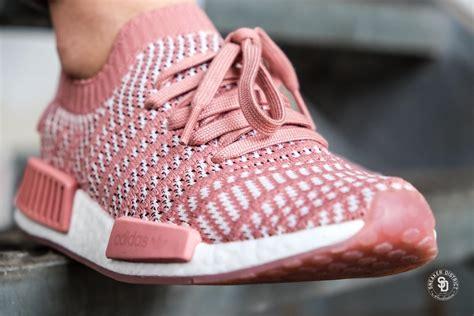 adidas womens nmd  stlt primeknit ash pinkorchid tint