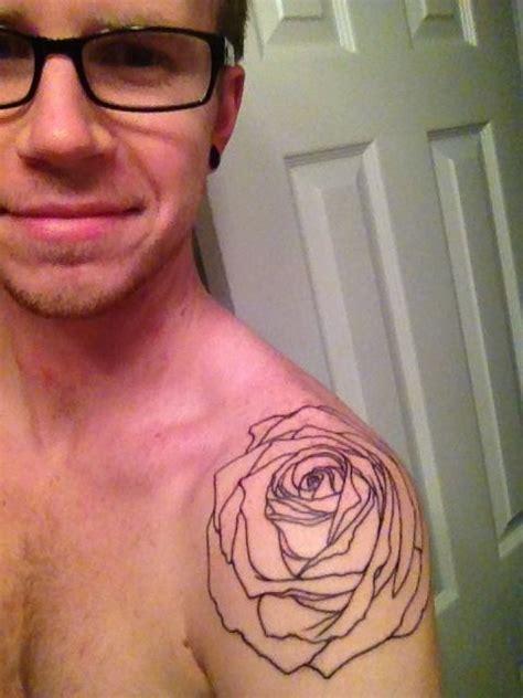 tattoos new look adumundead my new rose tattoo guys look tattoo