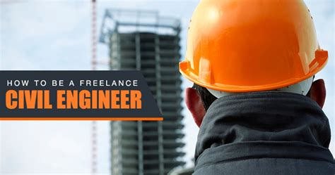 how to be a freelance civil engineer work salary