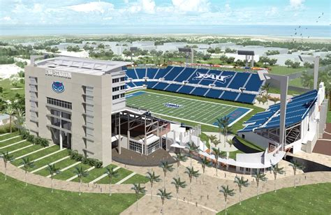 Florida Atlantic Mba Reviews by New Fau Football Era Begins With Groundbreaking For Onsite