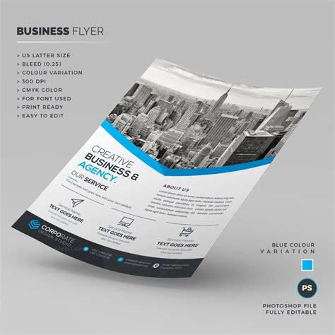creative business template creative business flyer template 000209 template catalog