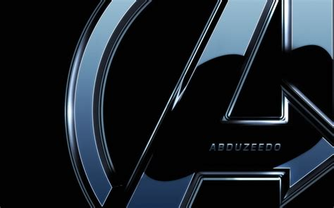 metal logo design photoshop the avengers poster in photoshop