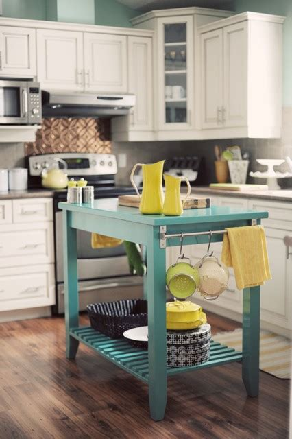 Colorful Kitchen Islands How To Infuse Color Into The Kitchen