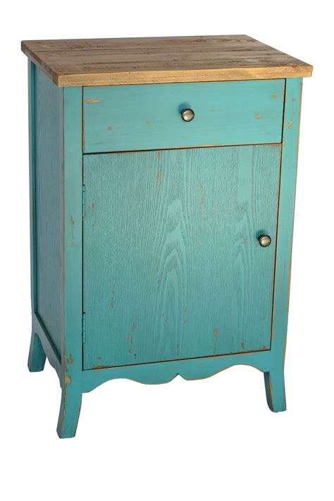 Teal End Table by Teal End Table Crafty