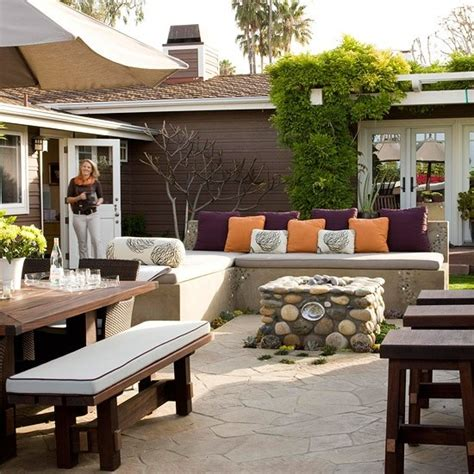 Patio Seating Ideas by Backyard Patio Design Ideas