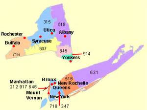 New York Area Codes Map by Addresses And Phone Numbers Of All Colleges Schools