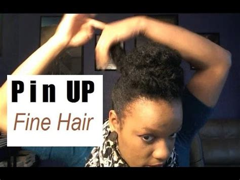 hairstyles for americans with thin wiry hair hairstyles for fine black natural hair quick pin up on
