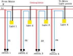 light points wiring circuit diagram easy diy tips