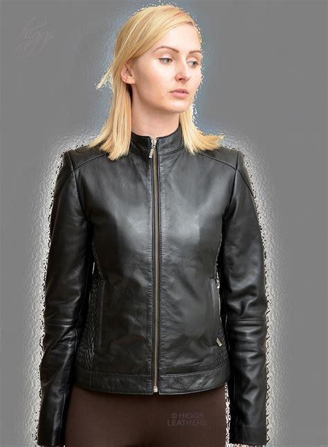 Susan Biker Leather Jacket buy leather jacket fit jacket