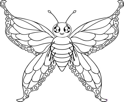coloring pages of big butterflies free printable butterfly coloring pages for kids