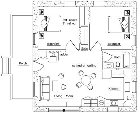 earthbag home plans loft earthbag house plans
