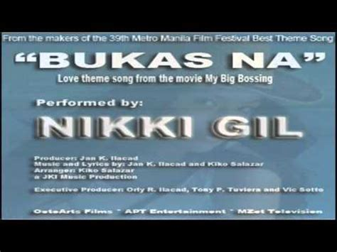 love themes from the movies quot bukas na quot love theme song from the movie quot my big bossing