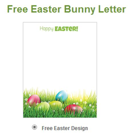 free printable letters easter bunny wny deals and to dos free letter from the easter bunny