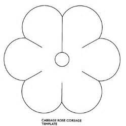plantilla de flor de seis petalos imagui
