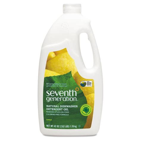 seventh generation 42 oz automatic dishwasher gel lemon