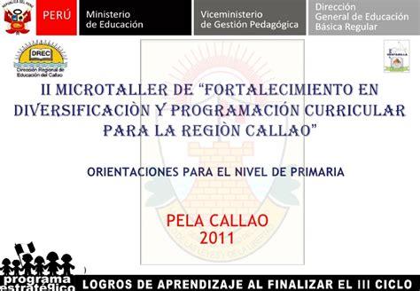 programa curricular jec comunicacin programacion curricular en el programa jec